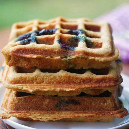 Almond Flour Keto Waffles #healthyrecipes