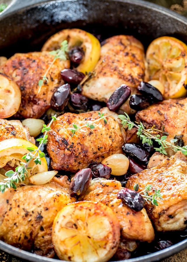 Baked Chicken Recipes Thighs Dinners