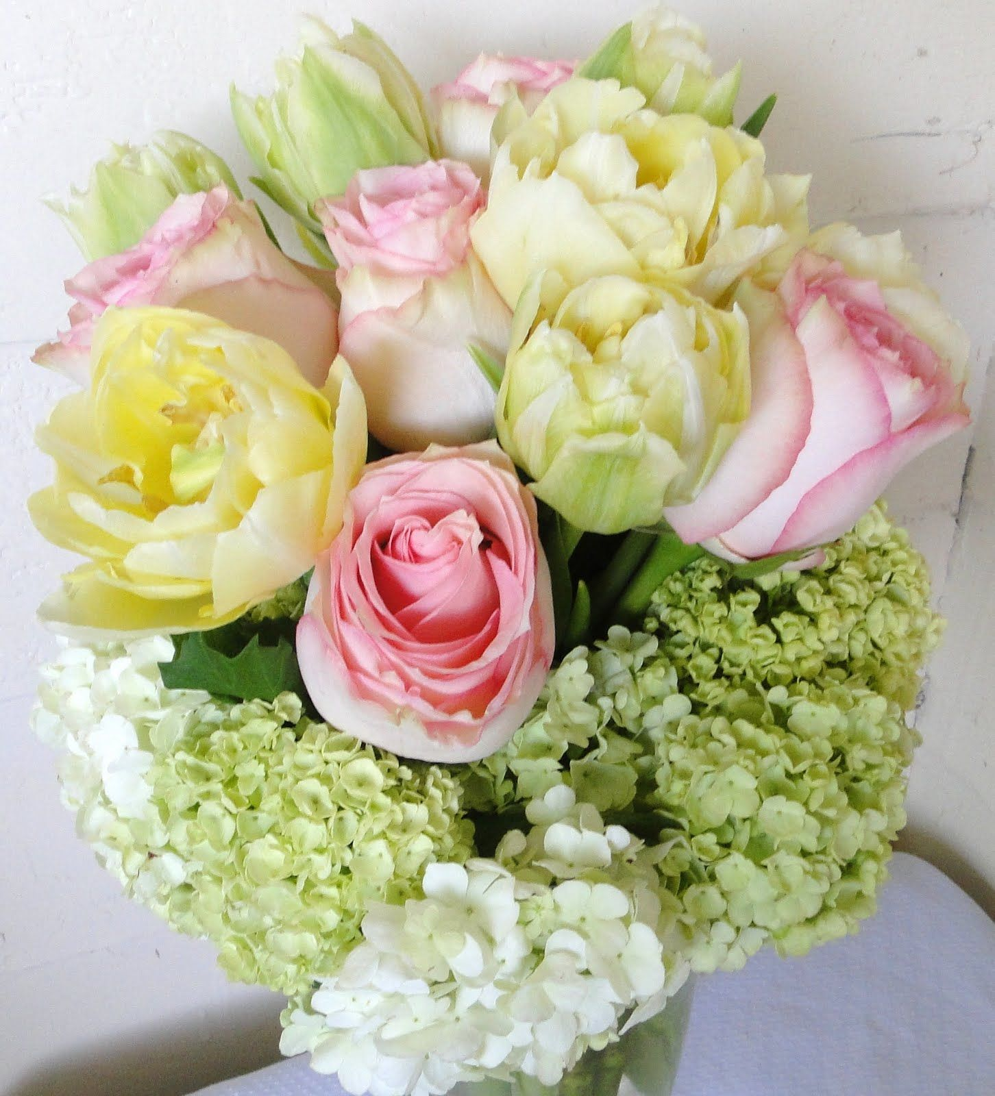 baby shower flower arrangements | baby girl shower the ...