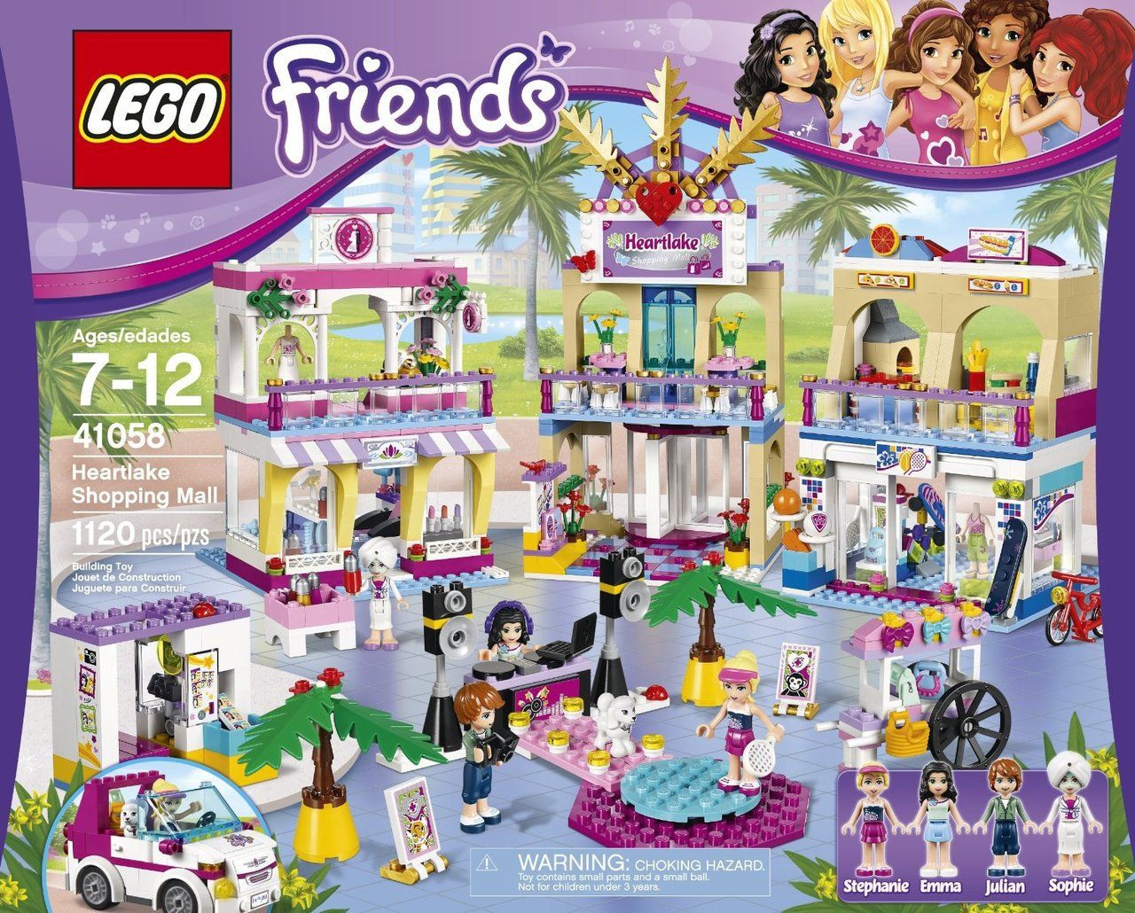 LEGO Friends Heartlake Shopping Mall 41058 - Discount Toys USA