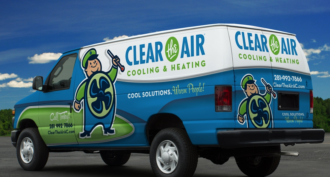 Vehicle Wrap Design For Clear The Air Cooling Heating A Hvac