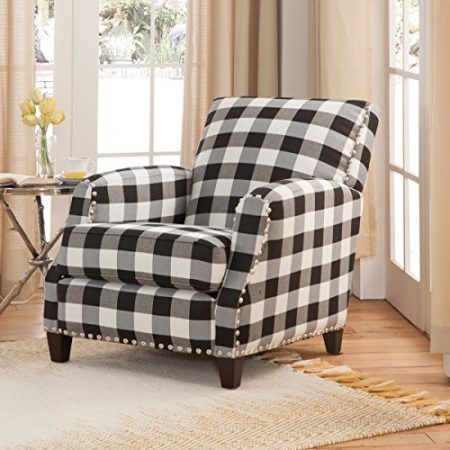 Farmhouse Accent Chairs Amp Rustic Accent Chairs Plaid Chair