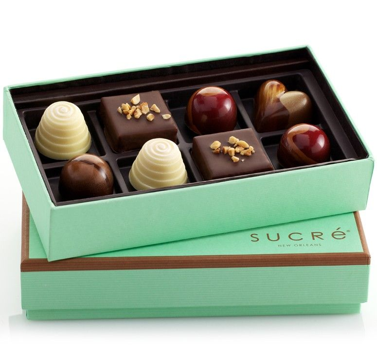 Indulge chocolate collection 8 piece yummmbest