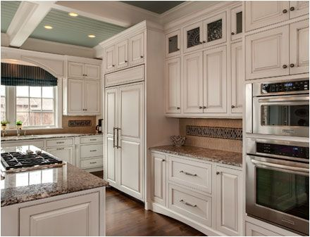 Denver Kitchen Remodel Crystal Cabinets Country French Square Door Style Finished In Signature Designer