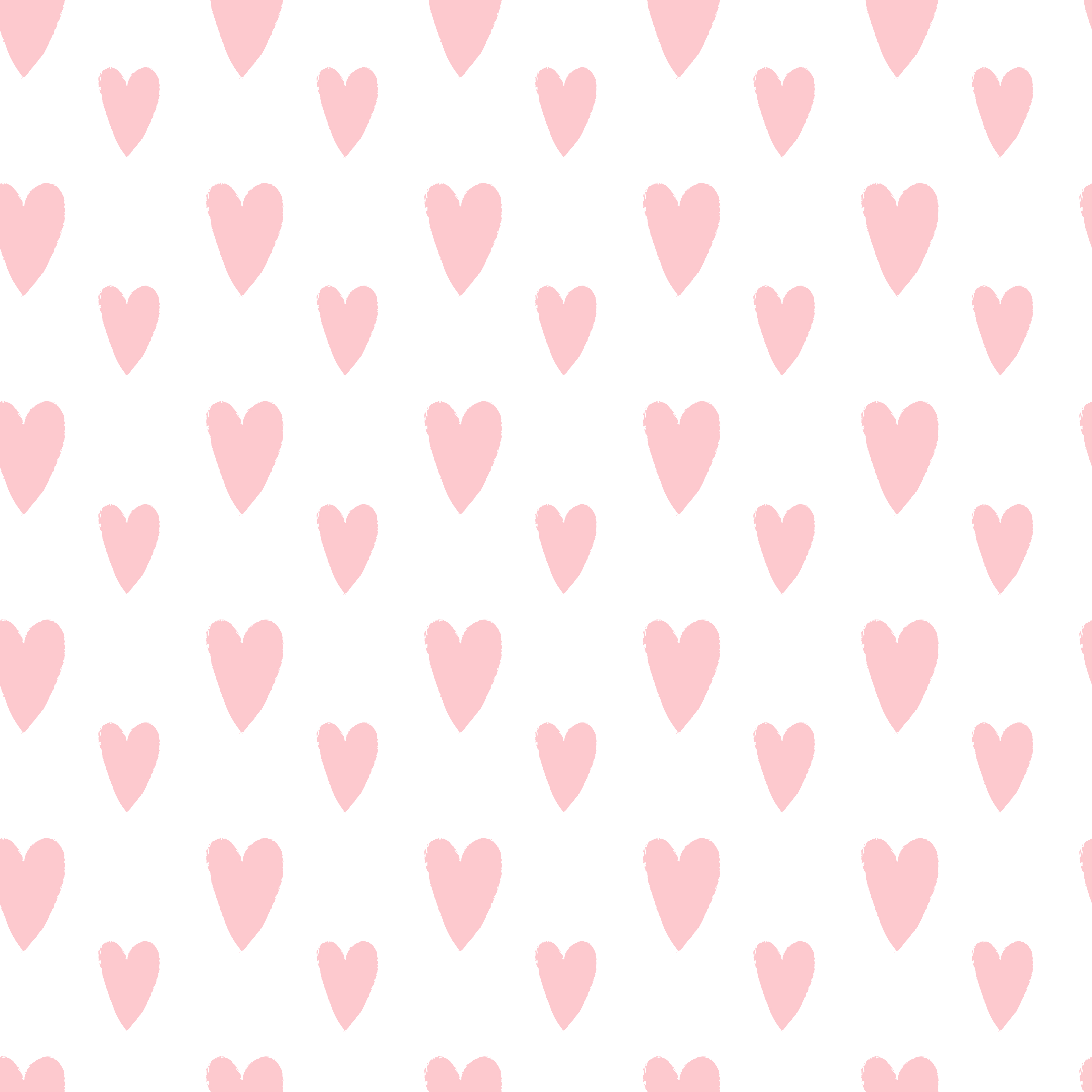 Pink Hearts Casetify Iphone Art Design Cute Heart Illustration Pink Heart Background Heart Wallpaper Pink Heart