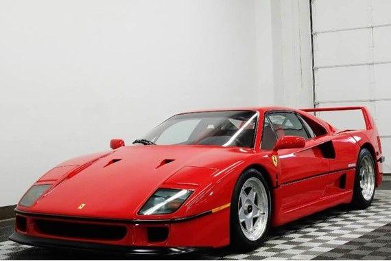 Ferrari F40 For Sale Dupont Registry Ferrari F40 Ferrari Sports Car