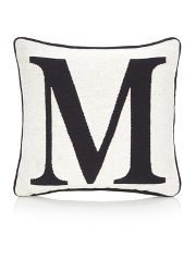 George Home Letter M Cushion