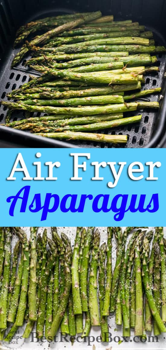 Easy Air Fryer Asparagus that's Quick and Crispy Good! | Best Recipe Box