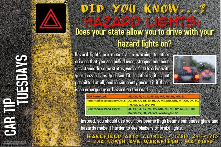 Wakefield Auto Clinic Hazard Lights Used Cars Online Car Buying