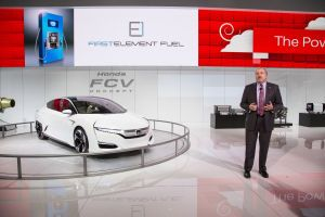 John Mendel Executive Vice President Automobile Division American Honda Motor Co Inc Mentions Hondas 14 Million Investment In First Element For