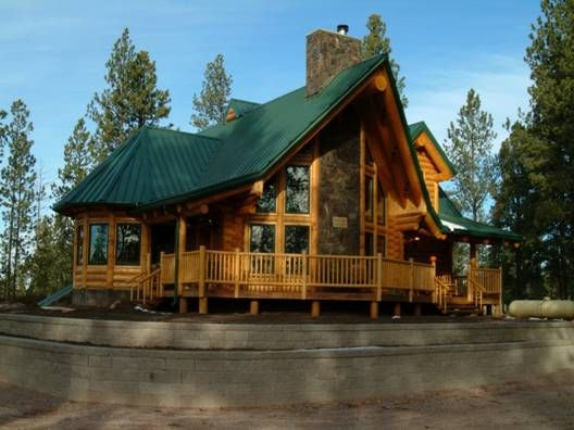 luxury log home designs - Log Home Design