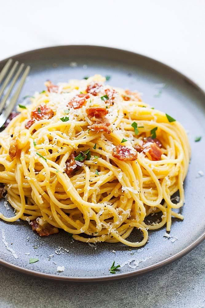 Foolproof Spaghetti Carbonara- Easy and Delicious   Delishably  Delicious Pasta Carbonara