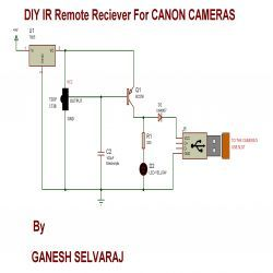 Usb to camera wiring diagram residential electrical symbols diy ir remote receiver for canon cameras circuit diagram rh pinterest com usb to rca jack wiring usb to rca jack wiring cheapraybanclubmaster Choice Image