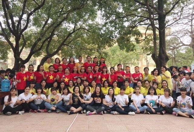 Áo cờ đỏ sao vàng trường Tiểu học Liên Bảo - Hình 1