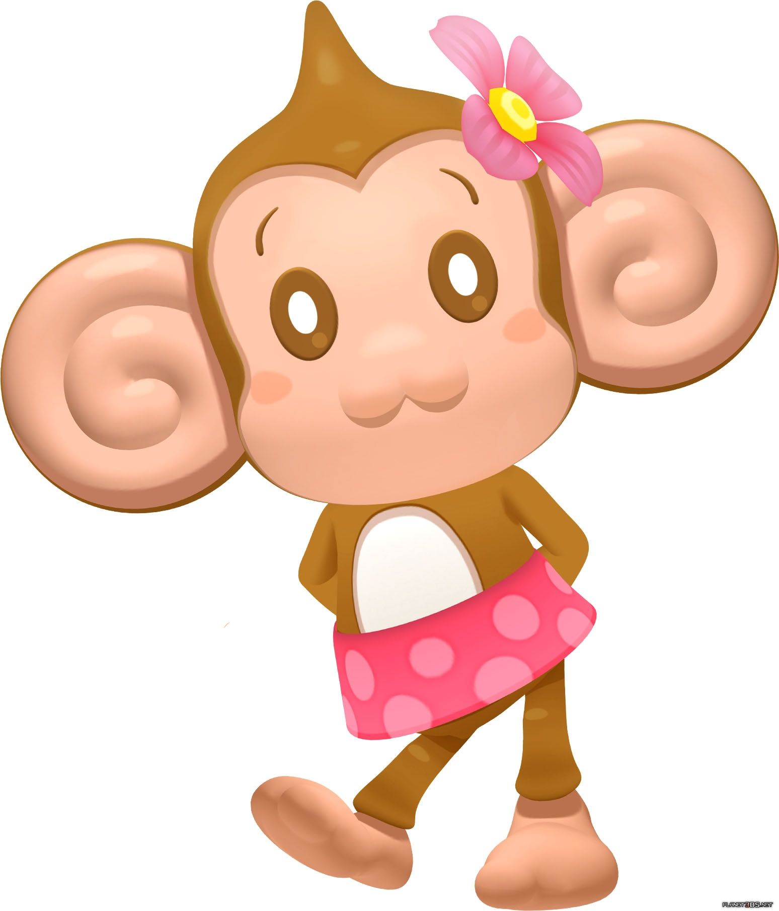 Meemee my favorite chara from Super Monkey Ball ~ ^ ww