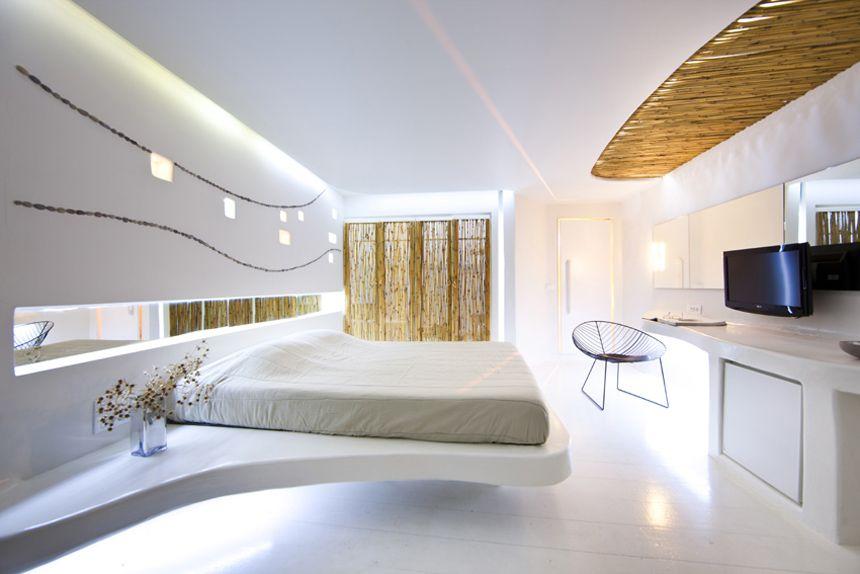 Futuristic hotel interior design andronikos mykonos for Futuristic interior designs