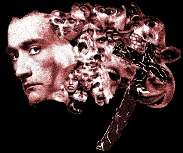 """Imagination, to Artaud, was reality; he considered dreams, thoughts and delusions as no less real than the """"outside"""" world. To him, reality appeared to be a consensus, the same consensus the audience accepts when they enter a theatre to see a play and, for a time, pretend that what they are seeing is real."""
