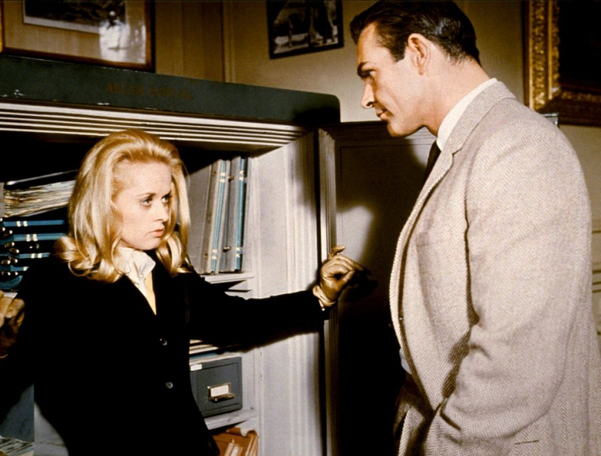 Marnie 1964 imdb tippi hedren and sean connery with
