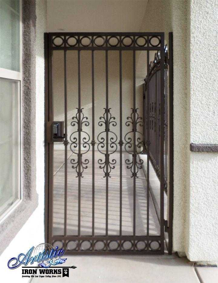 Custom Wrought Iron Gate Wrought Iron Doors Wrought Iron Garden