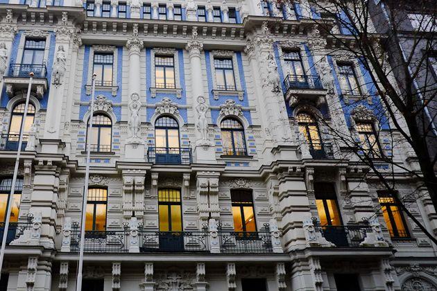 Art Nouveau heritage in Riga.
