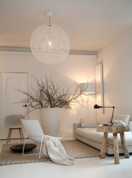 suspension luminaire boule blanche luminaires suspension et s jour. Black Bedroom Furniture Sets. Home Design Ideas