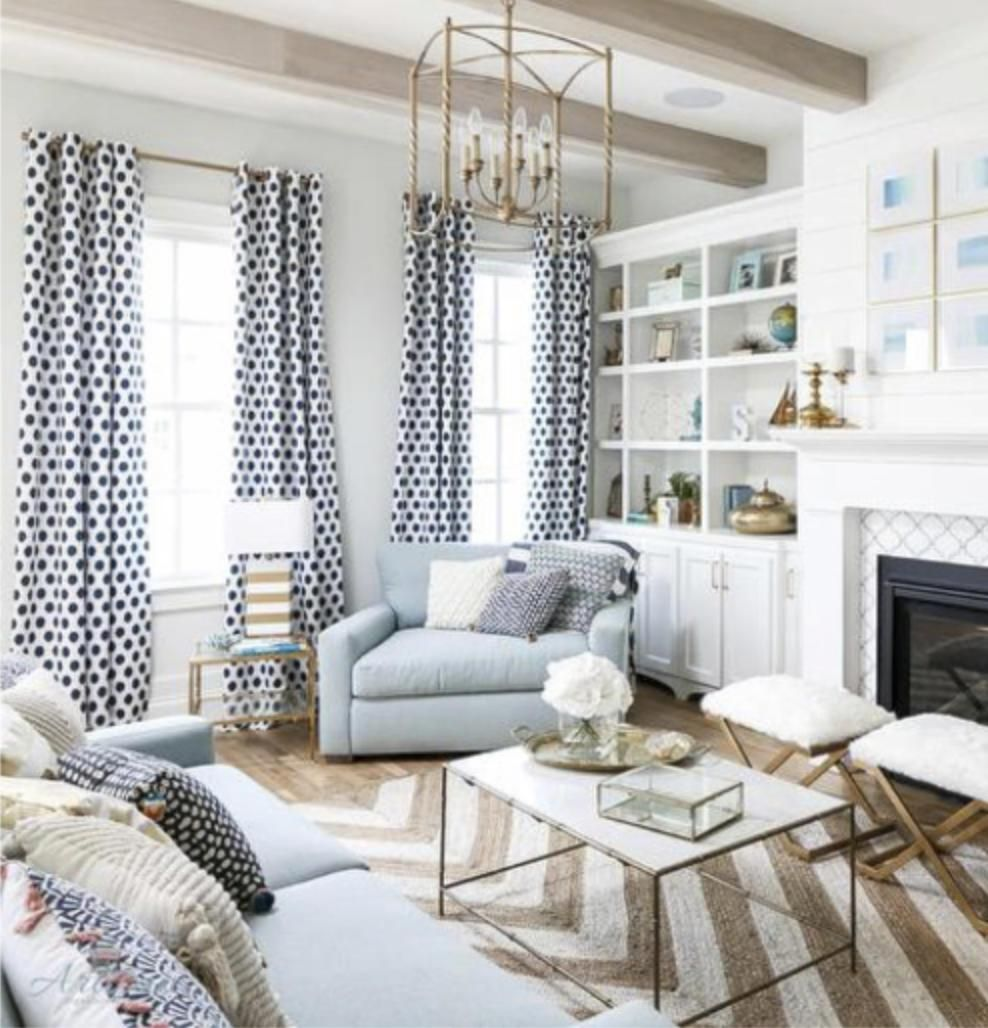 Navy And White Curtains Ikat Dots Shibori Dots Drapes Curtain Panels Blue White Extra Long Curtains Extra Wide Curtains Living Room Custom Navy And White Curtains Curtains Living Room White Curtains