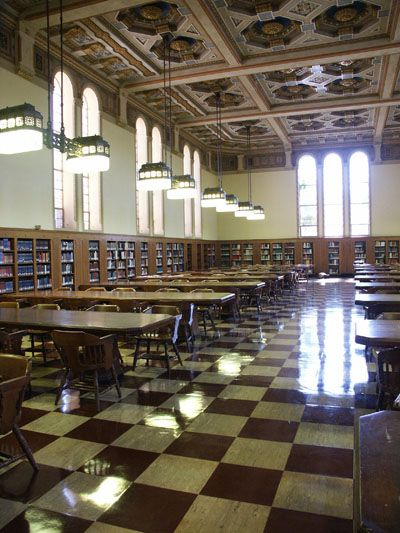 Los Angeles Times Reading Room Doheny Library Reading Room Family Room University Of Southern California