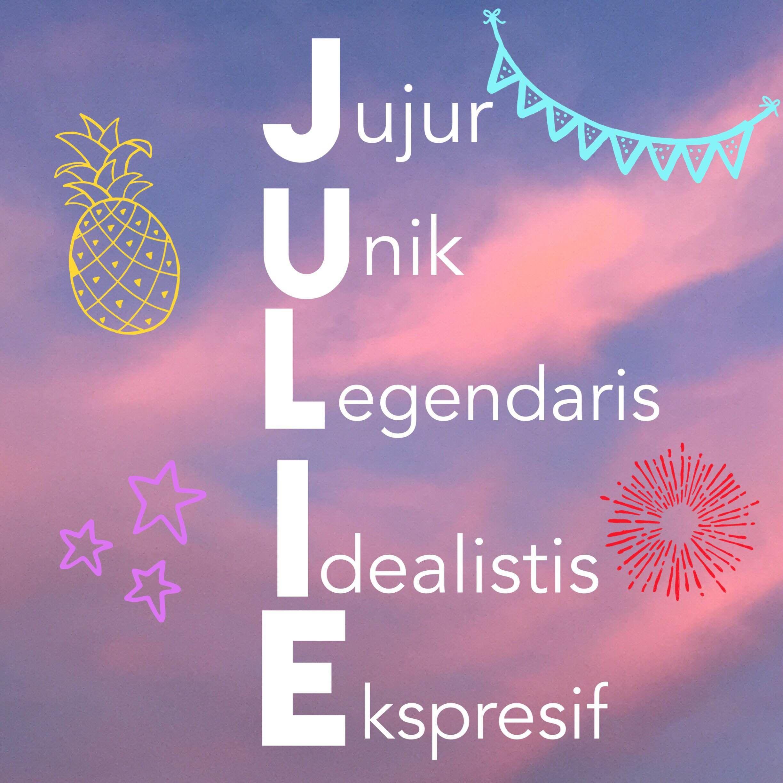 Acrostic poem sample JULIE Acrostiche, Julie