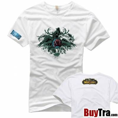 White Wow T Shirt For Womenworld Of Warcraft Druid Symbol T Shirt