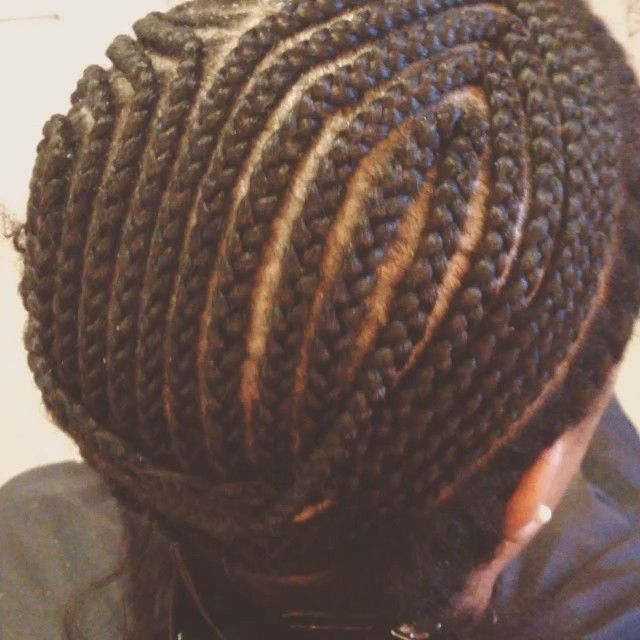 Strong Foundation Is The Most Important Step When Doing The Versatile Install Make Sure Your Braids Are Braid Patterns Crochet Hair Styles Sew In Braid Pattern