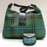 Handbag, Purse. Islay Shoulder Bag (In Your Tartan)