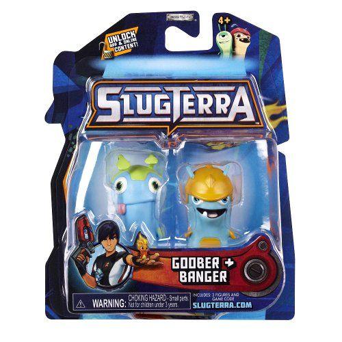 Slugterra Mini Figure 2-Pack Goober & Banger [Includes Code for Exclusive Game Items] (bestseller)