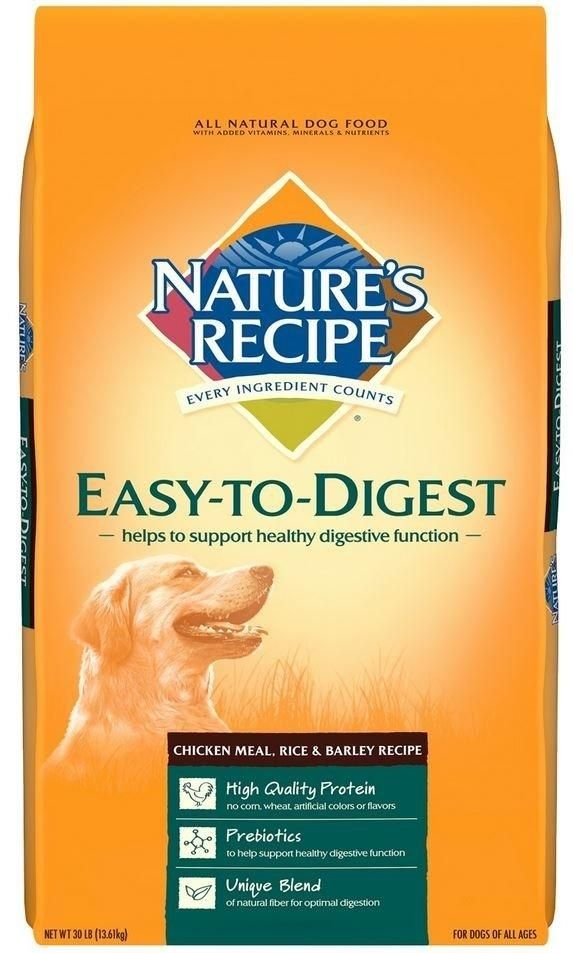 Nature S Recipe Easy To Digest Chicken Meal Rice And Barley Dry