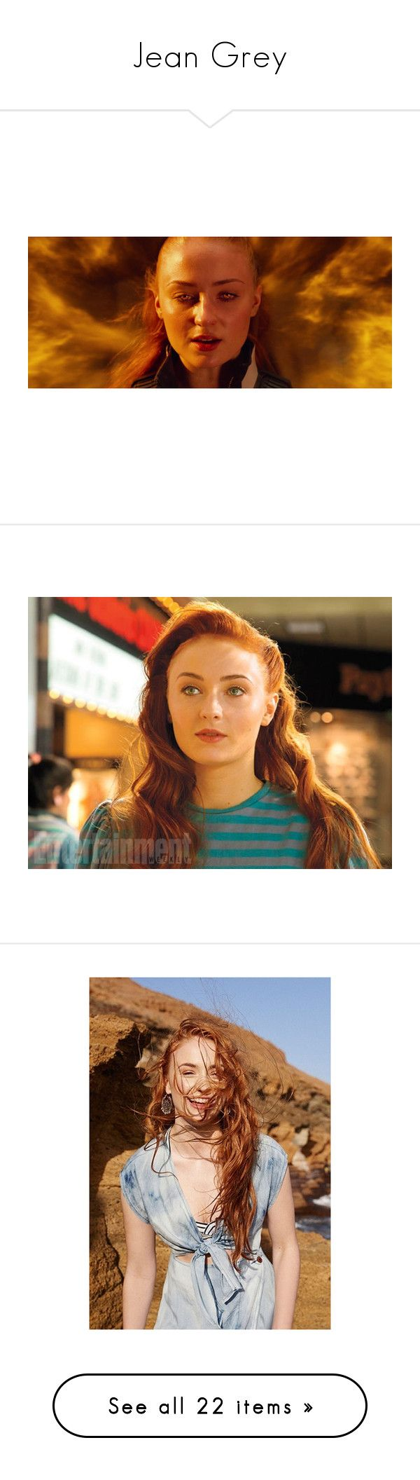 Jean Grey By Anjinha1267 On Polyvore Featuring Home Kitchen Dining Kitchen Gadgets Tools Pictures Sophie Turner Marve Jean Grey Women Clothes Design