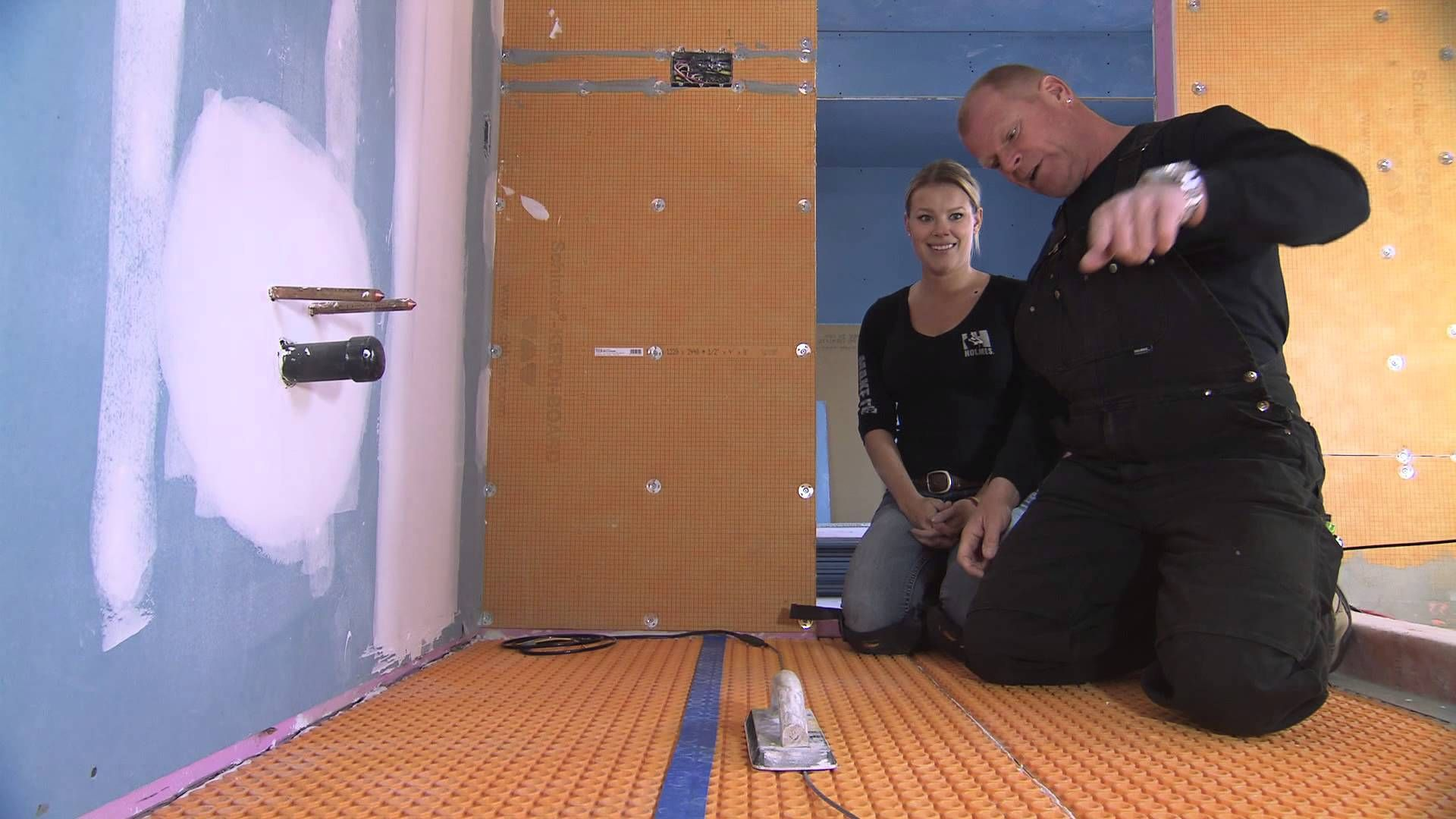 Mike holmes on schluter ditra heat for the home mike holmes ditra heat is the first electric floor warming system that combines uncoupling in a single layer with the heating cables for a warm tile floor that is not dailygadgetfo Gallery