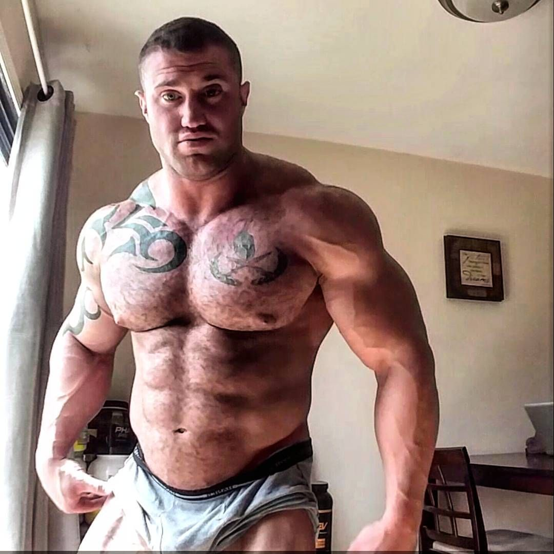 Body building fetish
