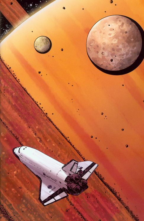 spaceplasma:  Orbiter is a graphic novel by Warren Ellis and...