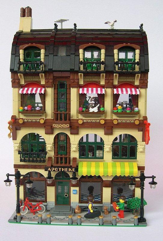 Modularsbykristel Passionate About Moc Modular Buildings Lego
