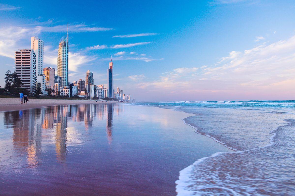 Goldcoast Surfers Paradise Australia Vacation Gold Coast