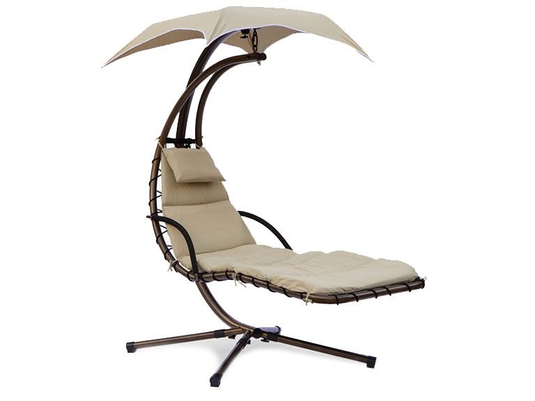 Great Dream Chair Swinging Chaise Lounge: Looks Like Something Out Of A Dr. Seuss  Book
