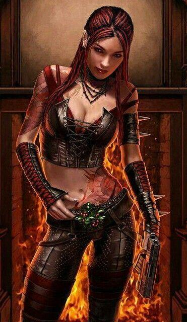 Sci-Fi Elf Girl, Fantasy Blonde Woman Art, Iray by