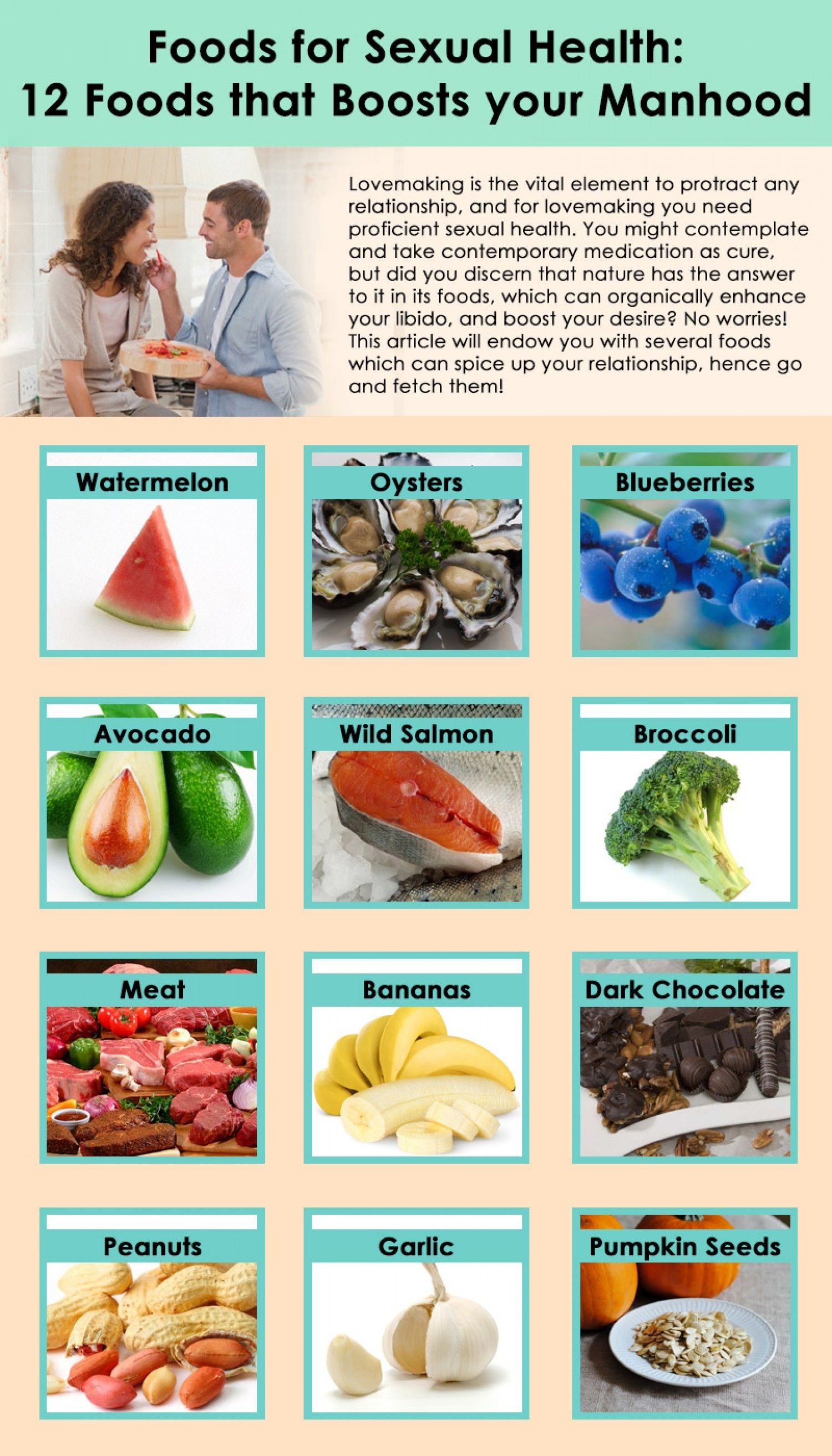 Best food for good health - Top 12 Foods For Men S Sexual Health Naturalon