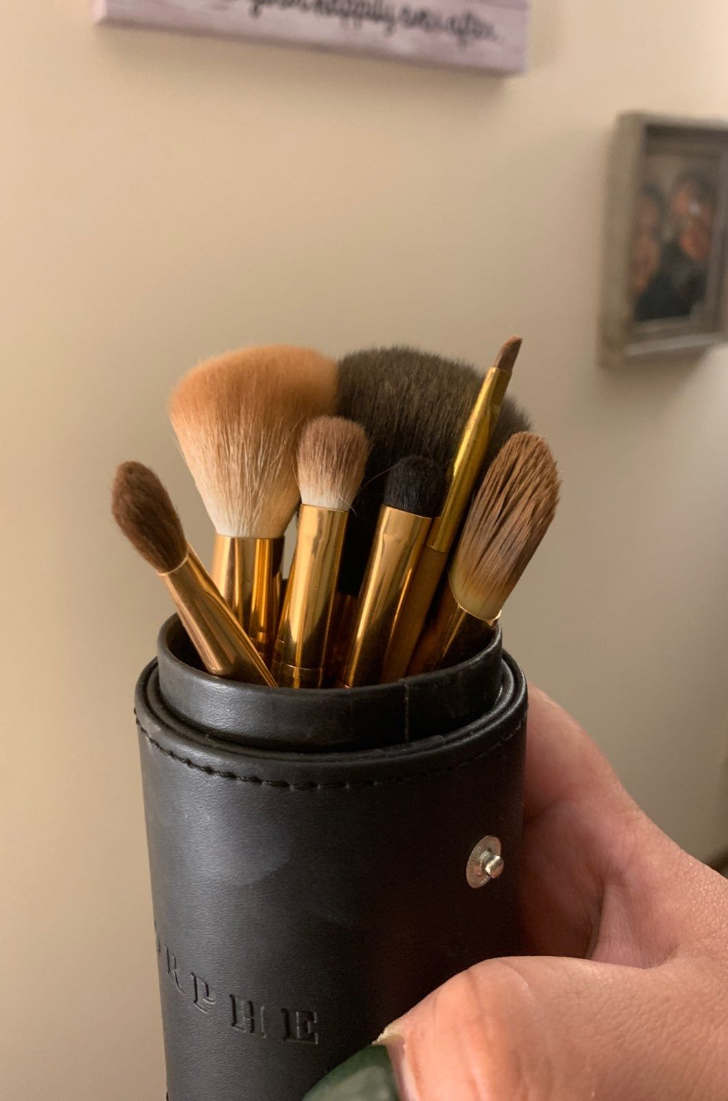 Morphe Brushes ROSÉ BAES BRUSH COLLECTION. Used once