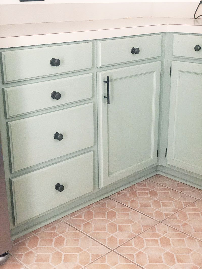 How My Chalk Painted Cabinets Have Held Up | Chalk paint ...