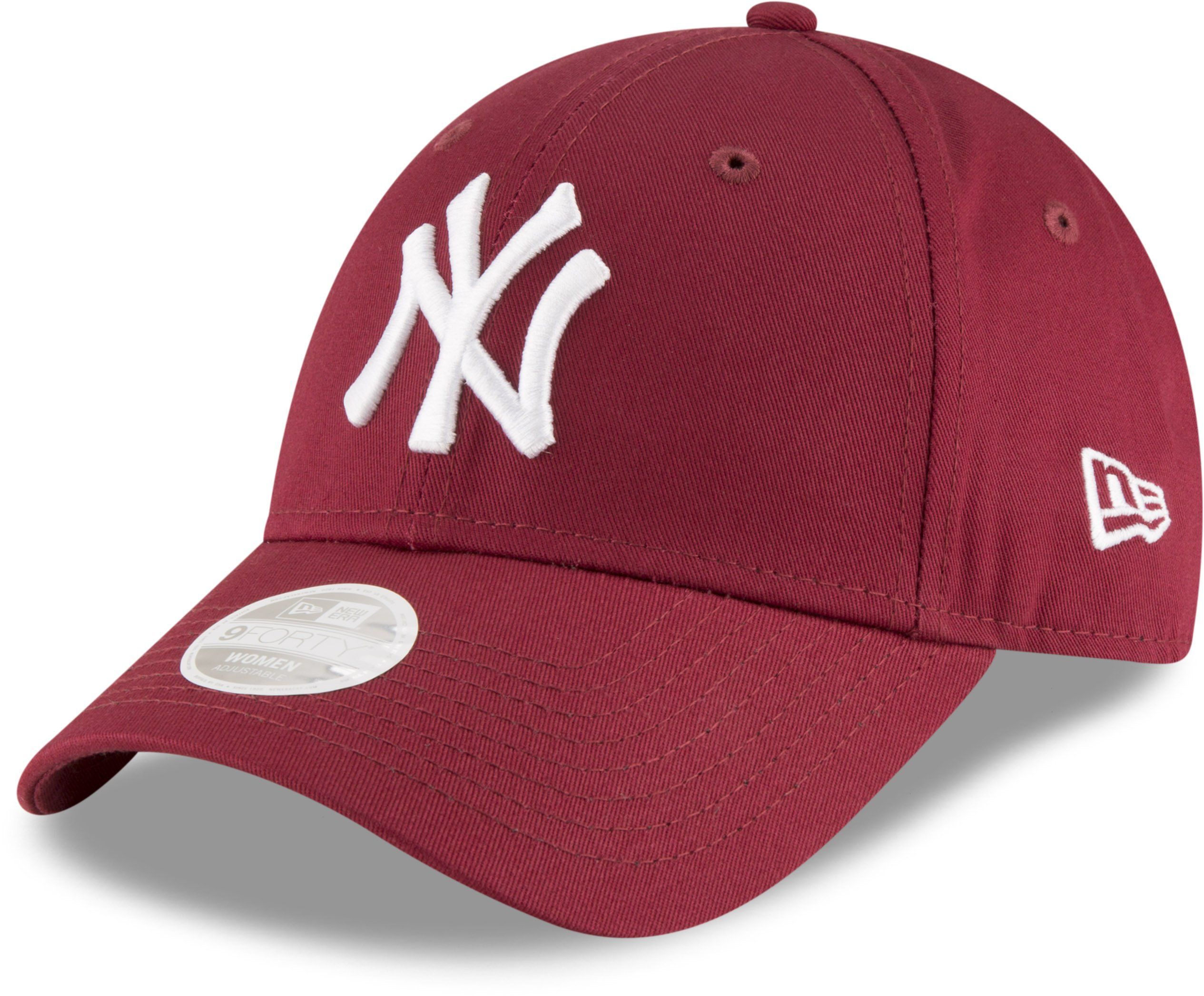 1656b461 NY Yankees Womens New Era 940 League Essential Cardinal Baseball Cap ...