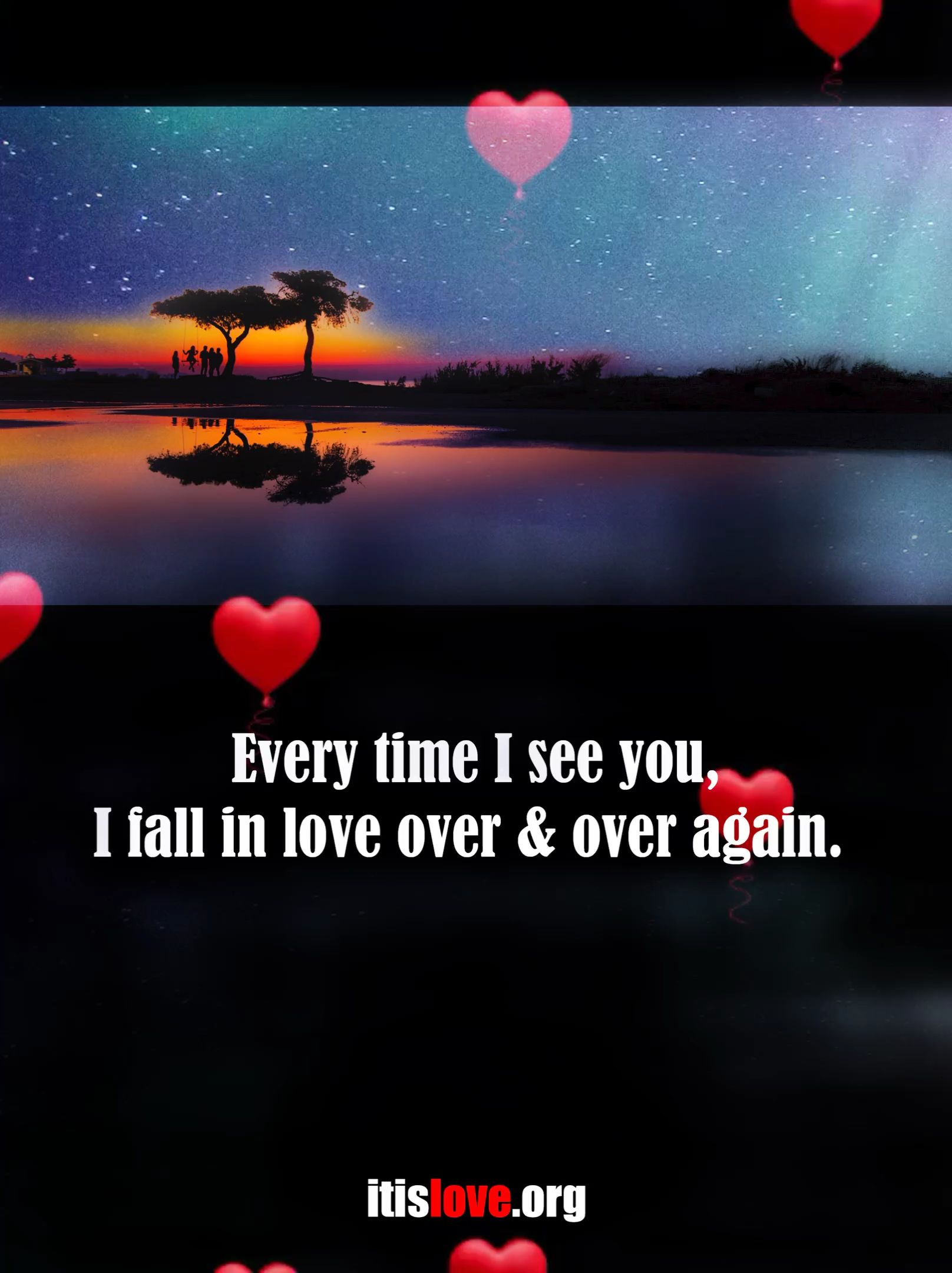 Every Time I See You I Fall In Love Love Lovequotes