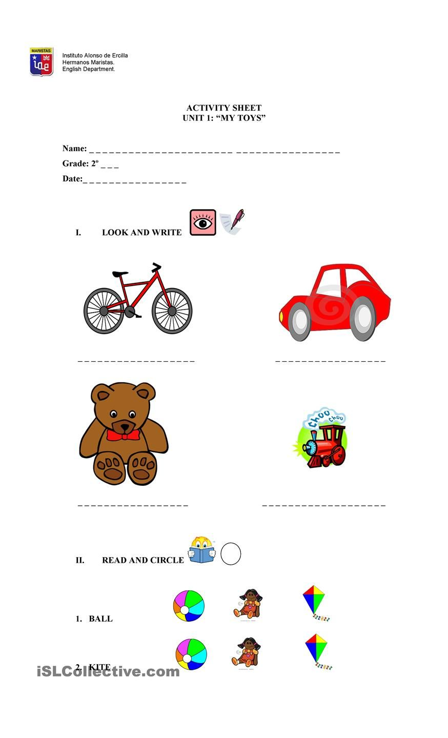 Demonstrative Adjective My Toys Common And Proper Nouns English Activities Adjectives [ 1440 x 874 Pixel ]
