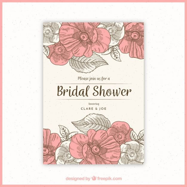 Pin by artistic graphics by scarlet on freepik wedding pinterest explore bridal shower invitations vintage style and more stopboris Images