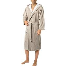 Photo of Morgenstern men's bathing coat, cotton, sand beige MorgensternMorgenstern