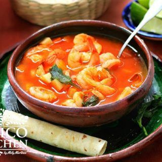 Caldo de Camarón #mexicanshrimprecipes